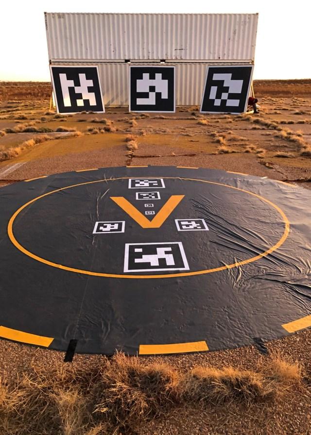 Honeywell UAM landing system