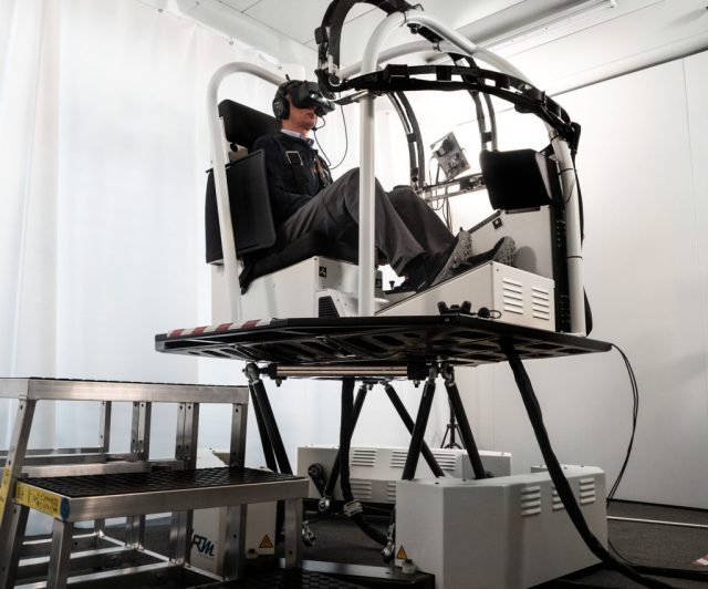 VRM Switzerland R22 VR simulator