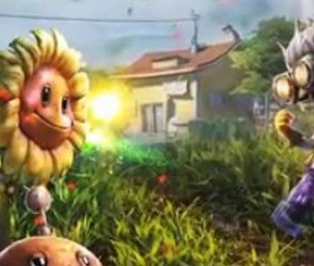 Plants Vs Zombies Garden Warfare Trailer Shows Gardens Graveyards Mode Vg