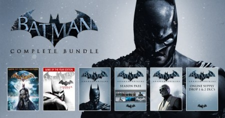 Get all Batman Arkham games and DLC for  10   VG247 batman arkham bundle stars
