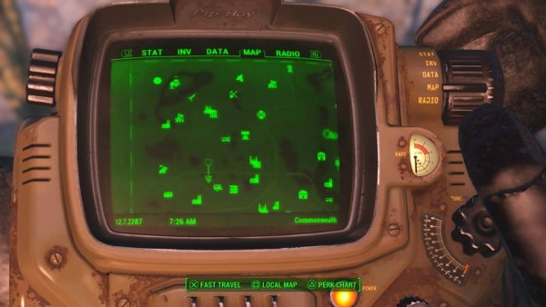 Fallout 4 mod makes in game map a lot more readable   VG247 fallout 4 dogmat armor location