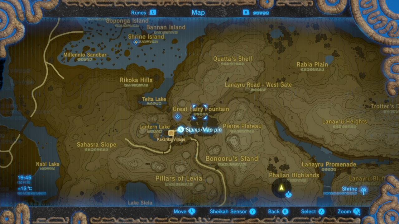 ... The Wild Shrine Maps And Locations Polygon Oman Au Shrine Magnesis  Trial The Legend Of Zelda Breath Of The Wild Shrine Locations And Myahm  Agana Shrine