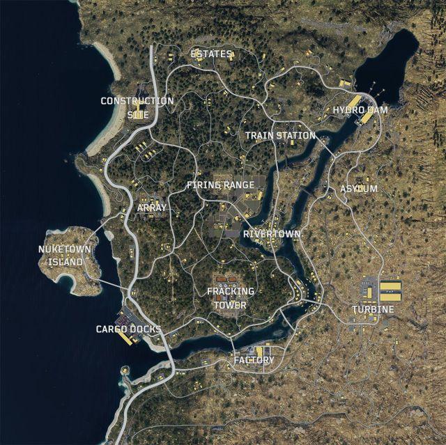 Blackout map