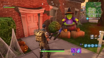 Fortnite Ring The Doorbell Of A House With An Opponent Inside Week