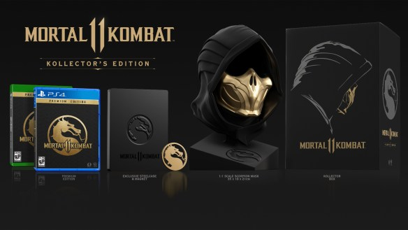 Mortal Kombat 11: Kollector's Edition features 1:1 replica