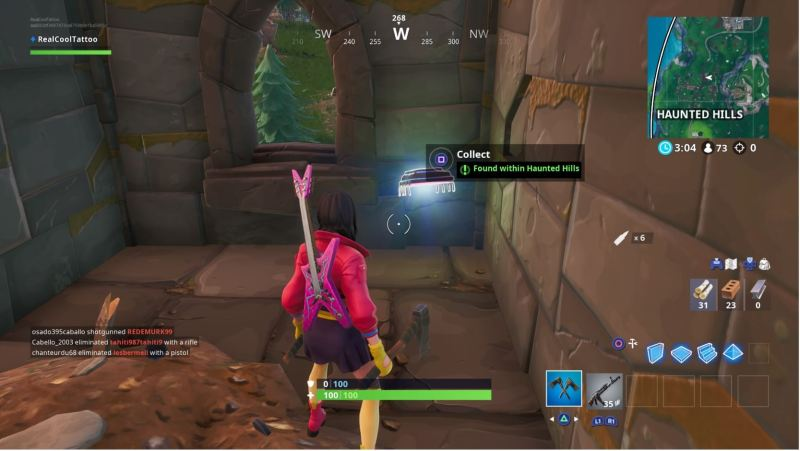 Fortnite Fortbyte Locations Guide 64 Rox On Highest Of Stunt