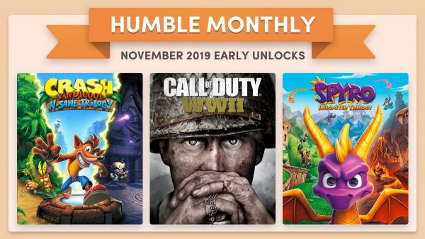 Latest Humble Monthly es un scorcher con Crash, Spyro y Call of Duty: WW2 por solo $ 12 2