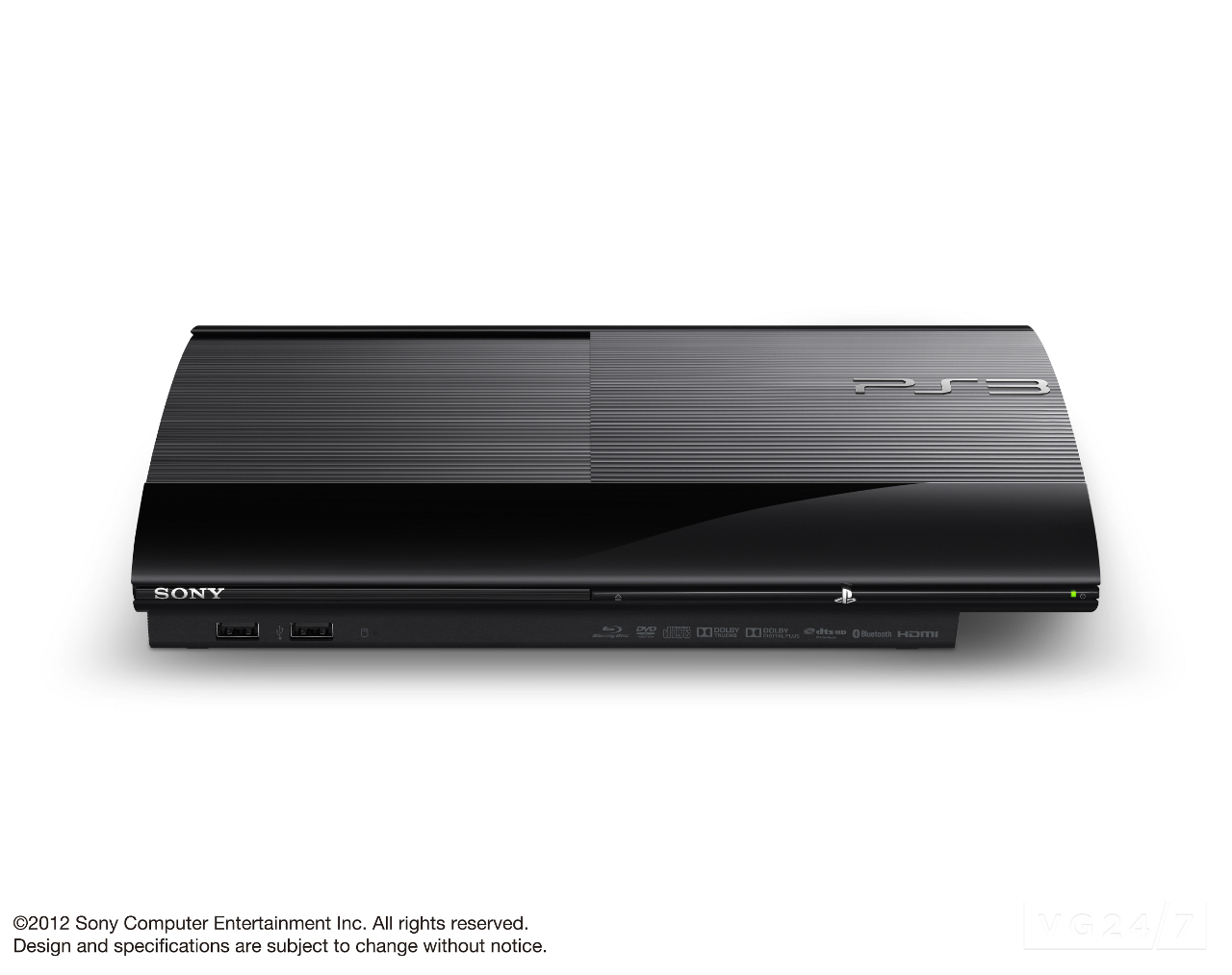 PS3 Super Slim Official Console Photos See Them Here VG247