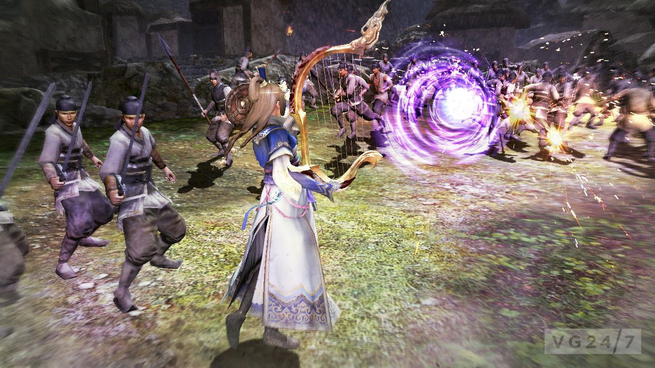Dynasty Warriors 8 Screens Show Tons Of Light Heavy Light Heavy Action VG247