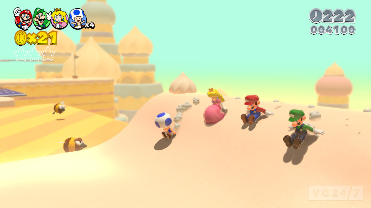 Super Mario 3D World Out December On Wii U Screens