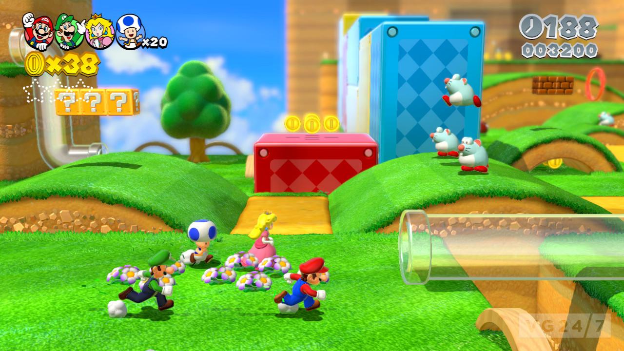 World Ghost House 3d Star Super Mario Wii U World
