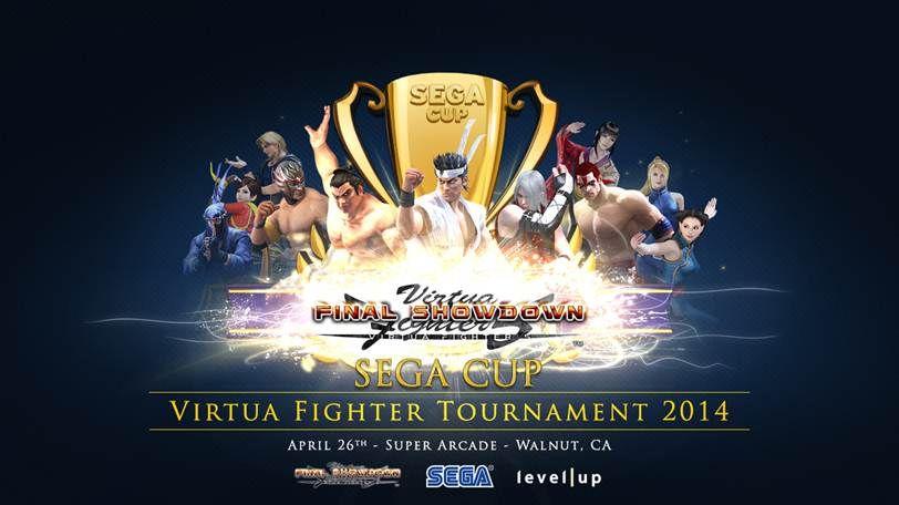 SEGA Cup 2014 To Feature Virtua Fighter 5 Final Showdown
