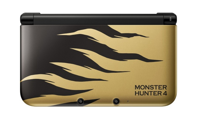 Monster Hunter 4 3DS Console Gets Images See The New