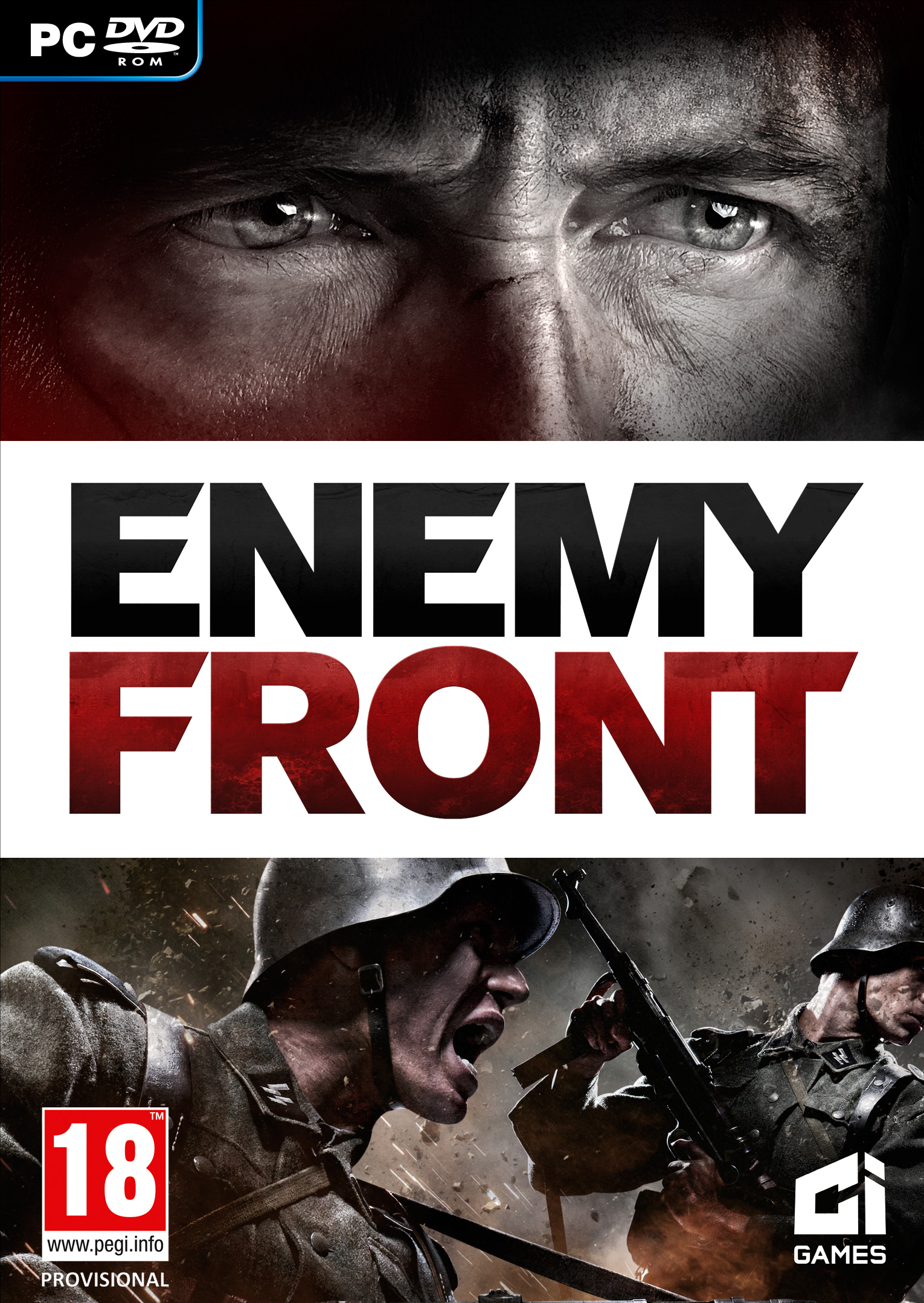 Enemy Front Video Focuses On Tactics Box Art Released VG247
