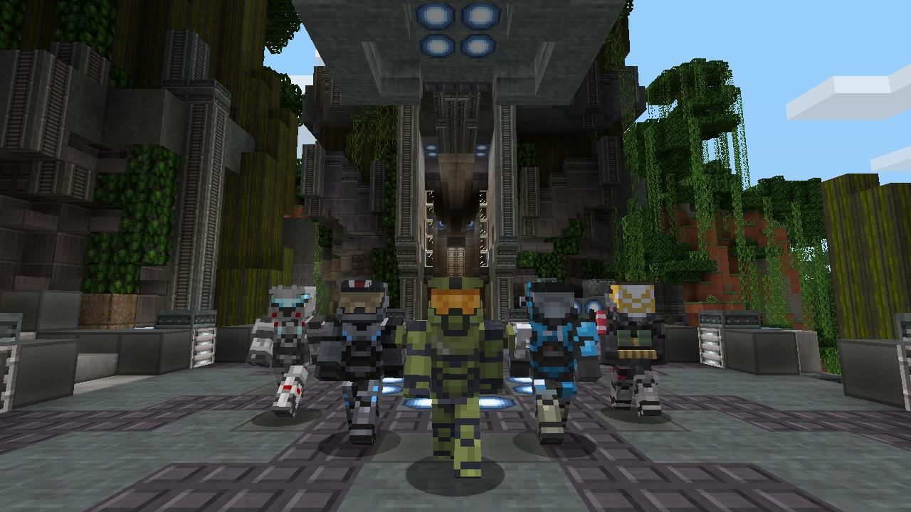 Build Your Own Halo 5 In This New Minecraft Xbox 360 Mash Up Pack VG247