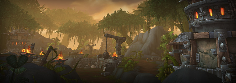 World Of Warcraft Warlords Of Draenor Welcomes You To The