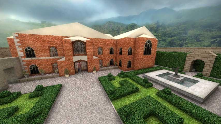 Explore Lara Crofts Mansion In This Great CSGO Map VG247