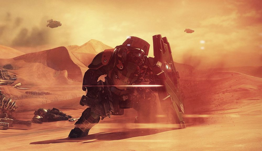 Your Destiny Takes You To Mars In This Gameplay Trailer