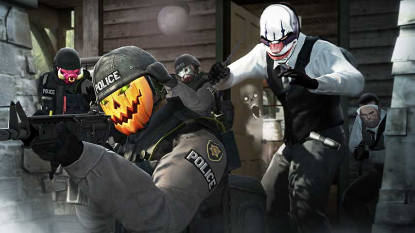 Counter Strike Global Offensive Gets Suitably Spooky
