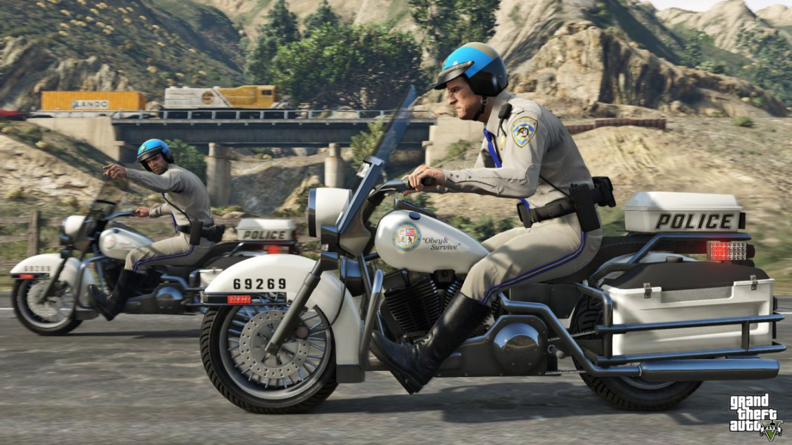 GTA 5 Day One Patch Is 114GB VG247