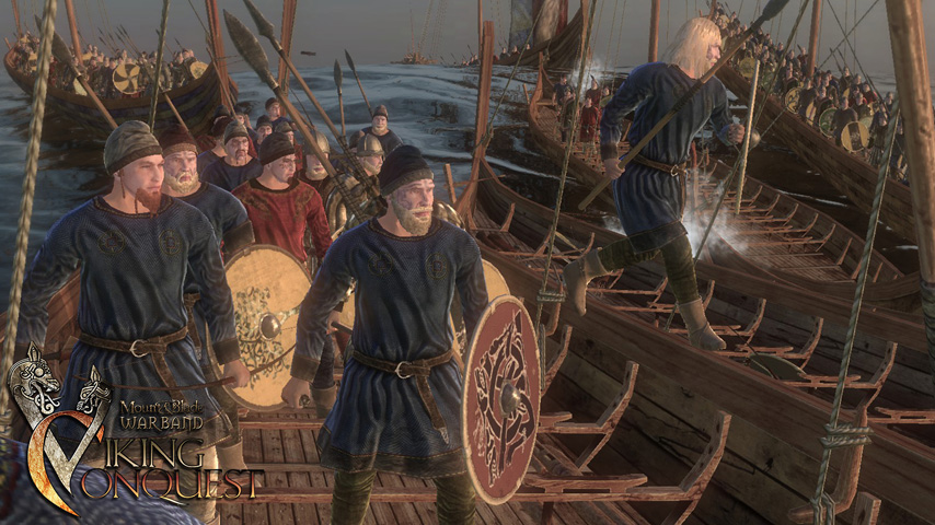 Mount Amp Blade Warband Gets A Bit More Metal With Viking Conquest VG247