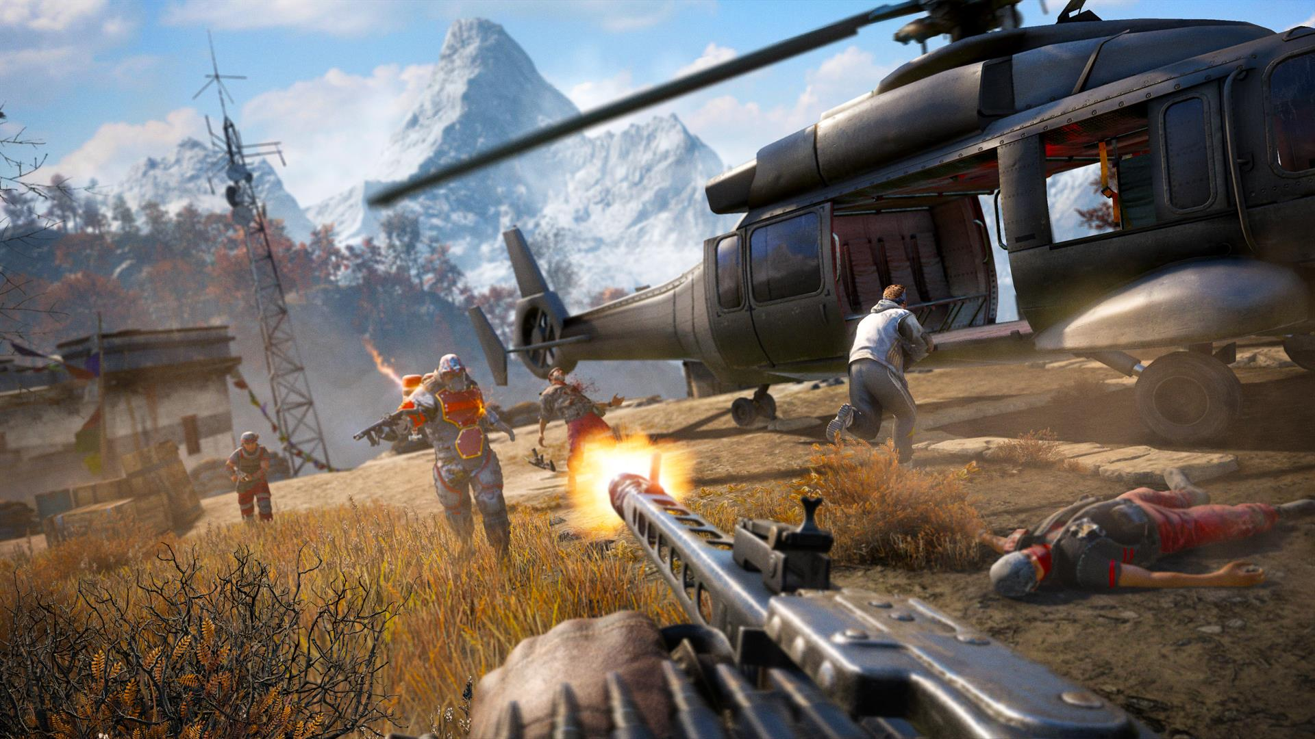 Far Cry 4s Escape From Durgesh Prison DLC Is Now
