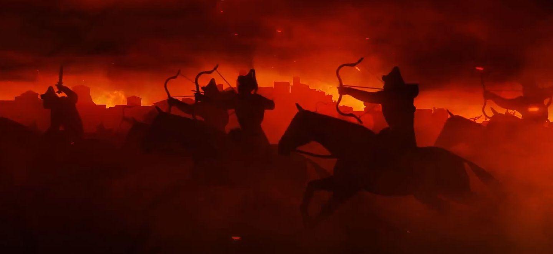 Total War Attila Black Horse Cinematic And Horde
