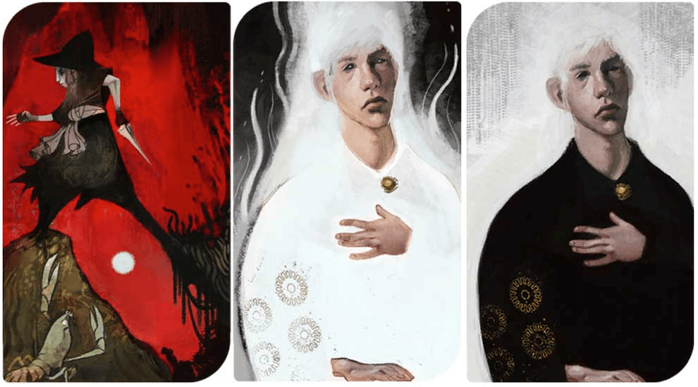 How And Why Dragon Age Inquisition Character Tarot Cards