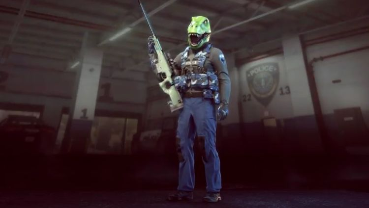 This Battlefield Hardline Multiplayer Video Shows Dino And