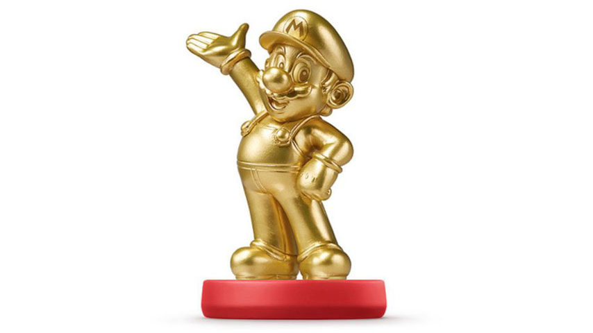 Gold Amiibo Sold Out Selling At Five Times RRP On Auction