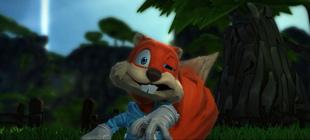Conkers Big Reunion Video For Project Spark Is As Silly