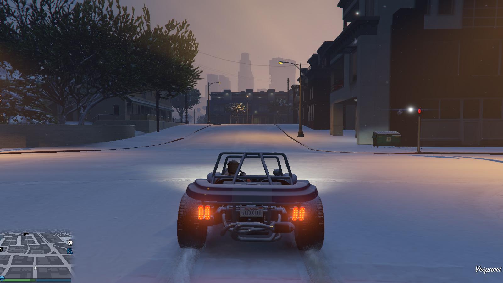 GTA 5 PC New Mod Adds Snow To GTA Online VG247