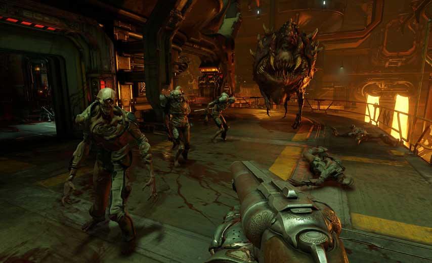 DOOM E3 2015 Screenshots Show Off A Hellish Bestiary VG247