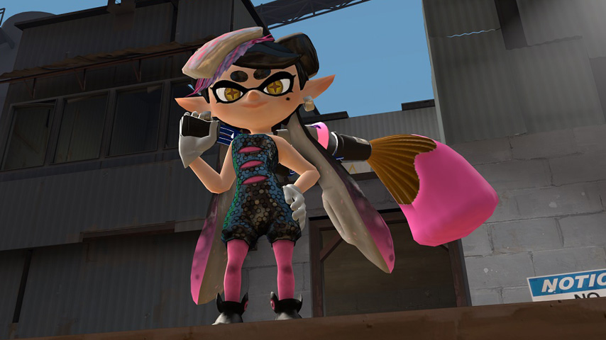 Check Out This Adorable Splatoon Mod For Team Fortress 2
