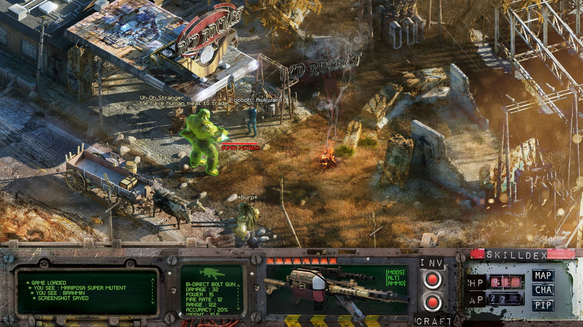 Fallout 4 As A 2D Isometric Game Looks Rad VG247