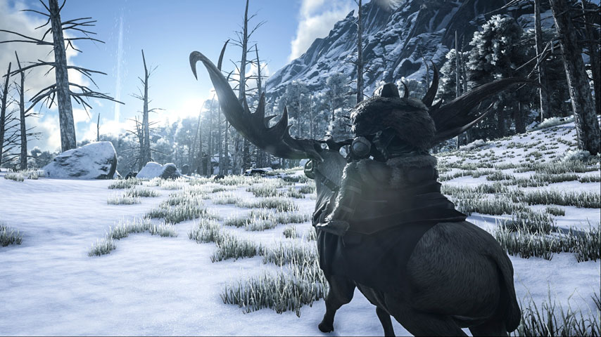 Ride Giant Frogs And Direwolves In Latest ARK Survival