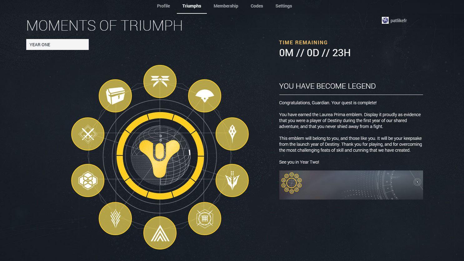 I Beat Destinys Moments Of Triumph Before The Taken King