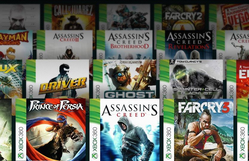 Ubisoft Is Teasing Future Xbox 360 Backwards Compatibility