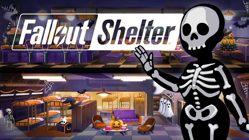 Fallout Shelter Halloween Update Adds Ghost Outfits And