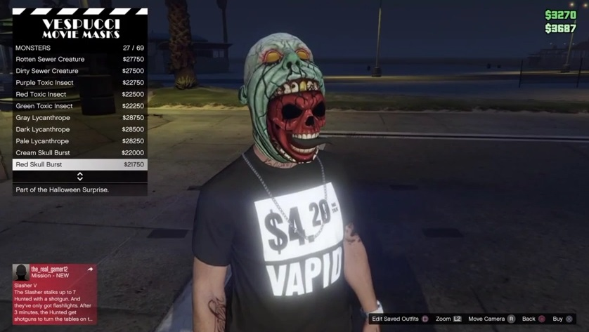 GTA Onlines Halloween Surprise Goes Live With New