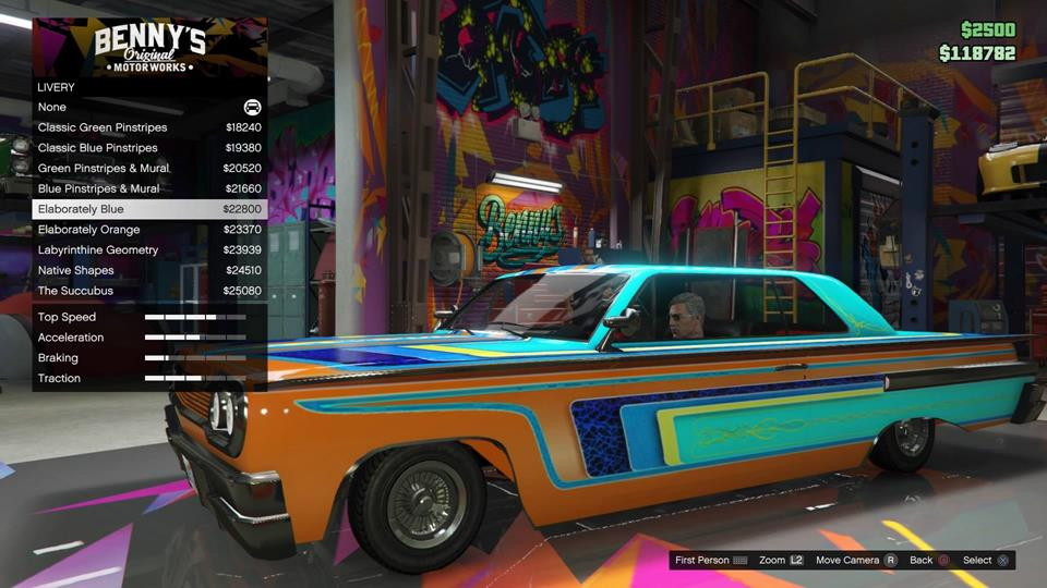 GTA Online Lowrider Car Customization Ranges From Flashy To Tacky VG247