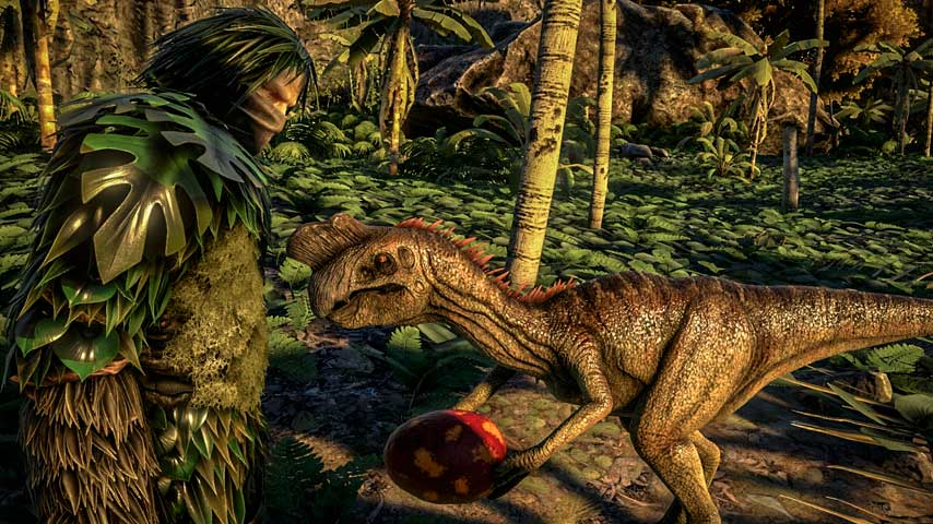 Watch Out For Egg Stealing Oviraptors In ARK Survival