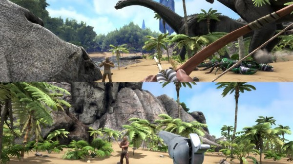 ARK Survival Evolved Will Add Local Split Screen Co Op On