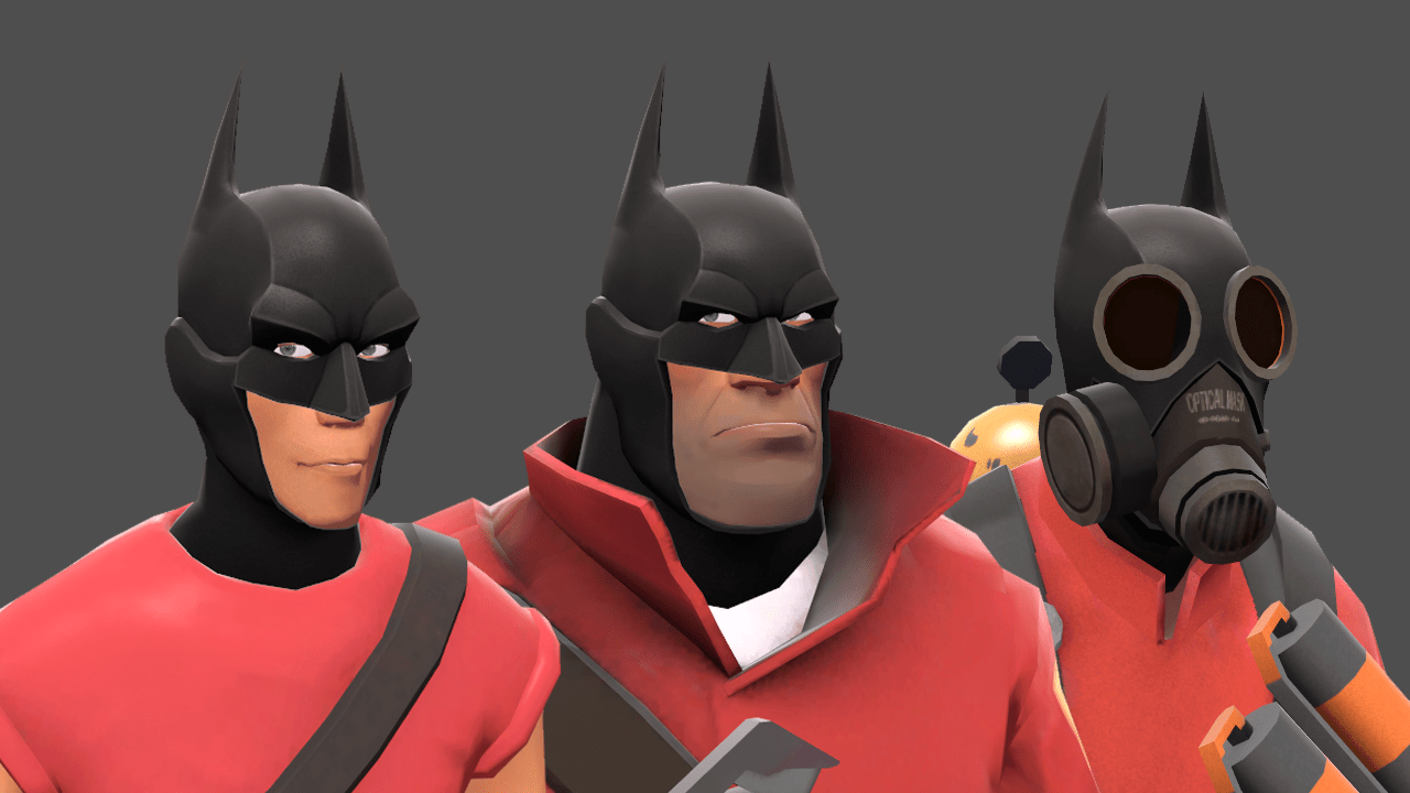 See The New Arkham Knight Items In Team Fortress 2 VG247