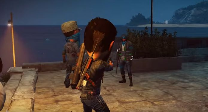 Use The Balloon Weapon In Just Cause 3 To Make NPCs Heads Swell VG247