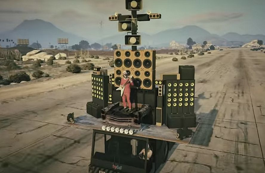 Drive The Mad Max Doof Wagon Or A Weed Truck With The GTA 5 Funny Vehicles Pack VG247
