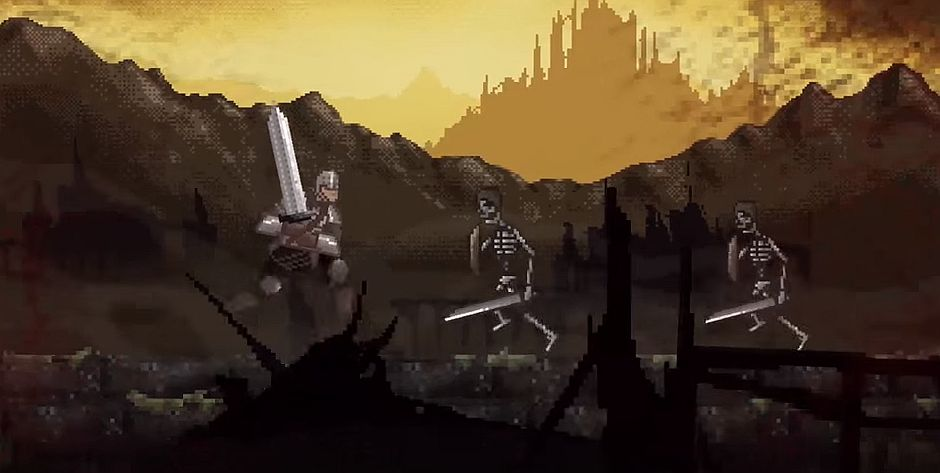 Slashy Souls Is A Dark Souls Inspired Mobile Game Thats Out Tomorrow VG247