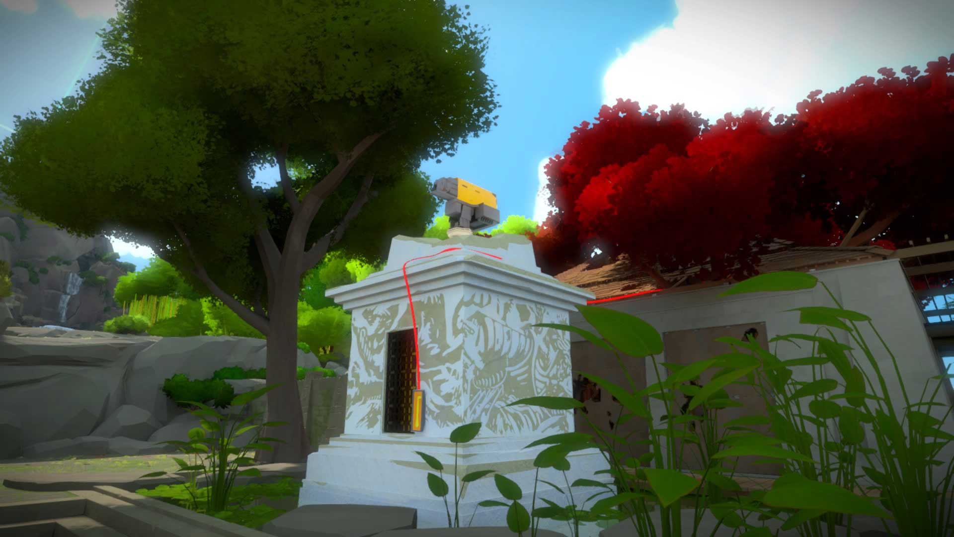 The Witness Monastery Puzzle Solutions VG247
