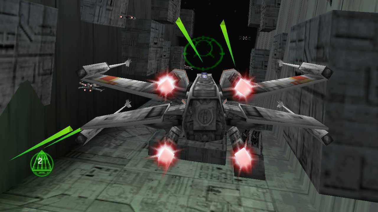 Star Wars Rogue Squadron 3D Hits Steam Sets Off