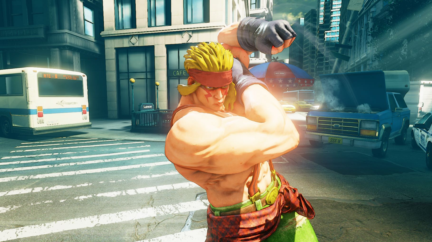 Street Fighter 5s Alex And Changes Detailed Ahead Of